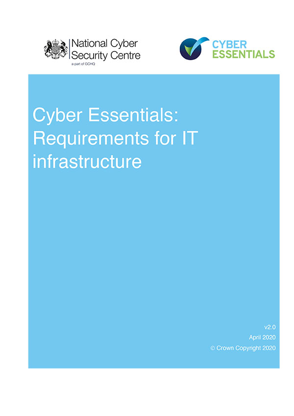 Cyber Essentials Requirements for IT infrastructure